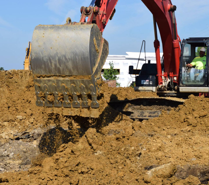 Excavation Services - Cedar Rapids, IA - Abode Construction