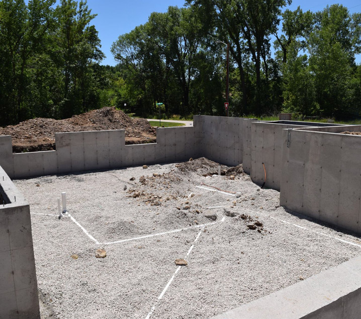 Custom Home Foundation - Abode Construction - Marion/Cedar Rapids, IA